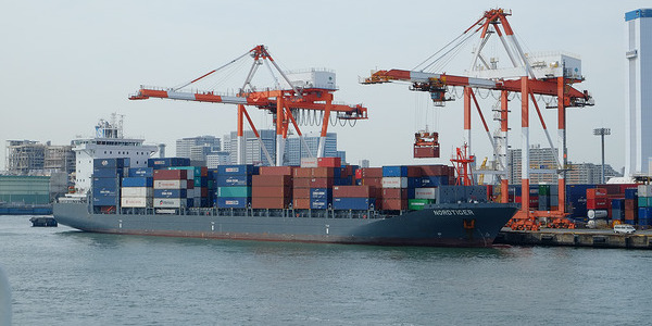 Japanese Container Ship